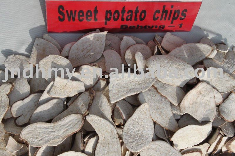 sweet-potato chips feed grade
