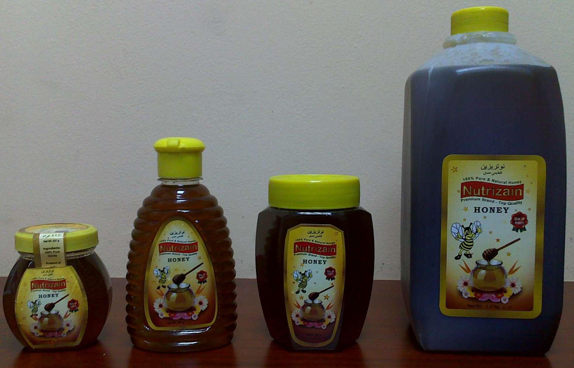 NUTRIZAIN Pure Honey products,United Arab Emirates NUTRIZAIN