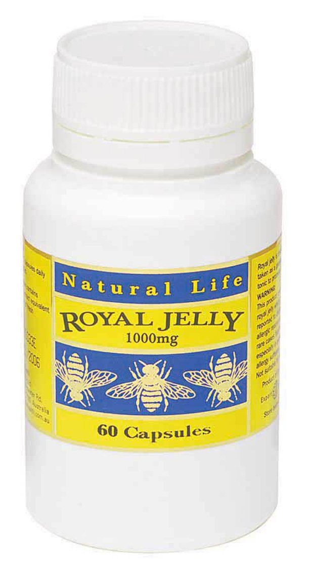 Royal Jelly 1000mg Soft Gel Capsules