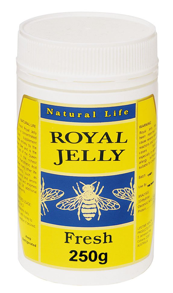 Fresh Royal Jelly 1kg, 500g & 250g
