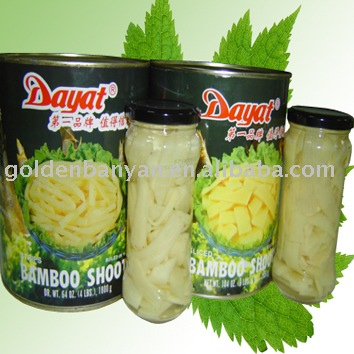 how to prepare canned bamboo shoots