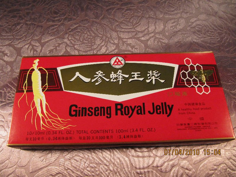 health food----ginseng royal jelly oral liquid