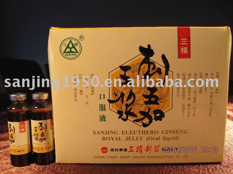 eleuthero ginseng royal jelly oral liquid