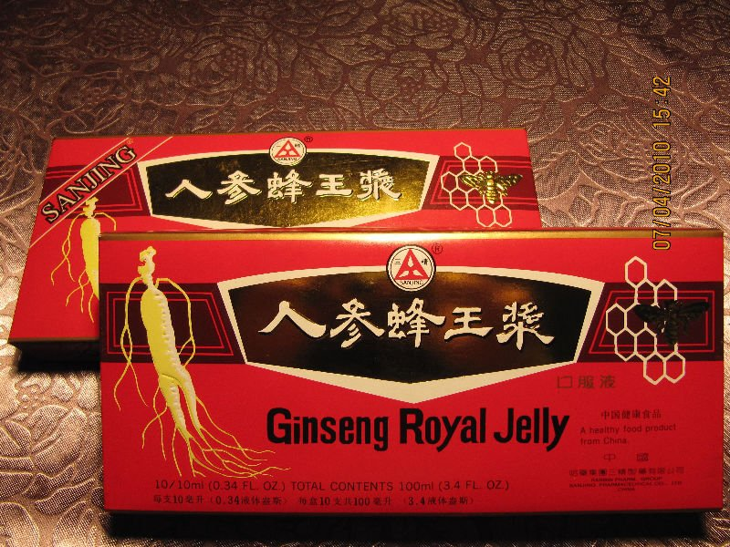 ginseng royal jelly oral liquid