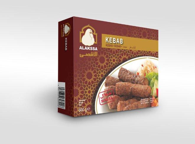ALAKSSA HALAL Beef Kebab