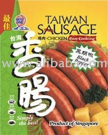 Black Pepper Chicken Taiwan Sausage