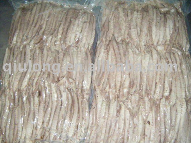frozen seafood (  bonito   loin )
