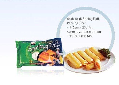 Otak-Otak Spring Roll
