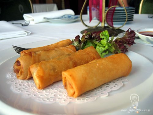 Pineapple Spring Roll
