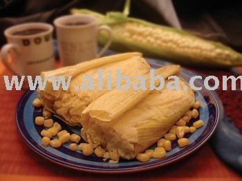 La Humita (Flavored corn paste tamale) from PERU