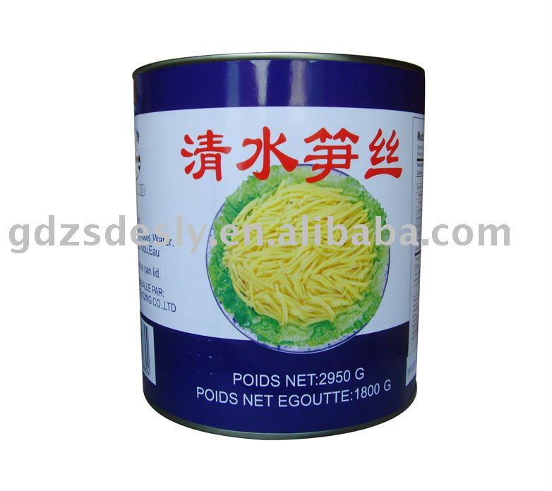 Canned Bamboo Shoot strips