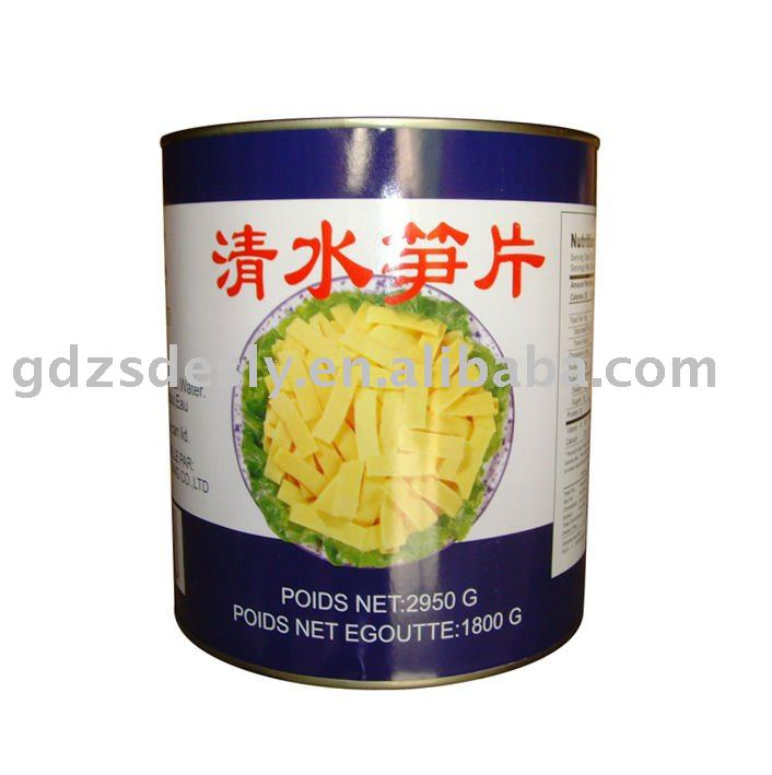 Canned Bamboo Shoot Slices