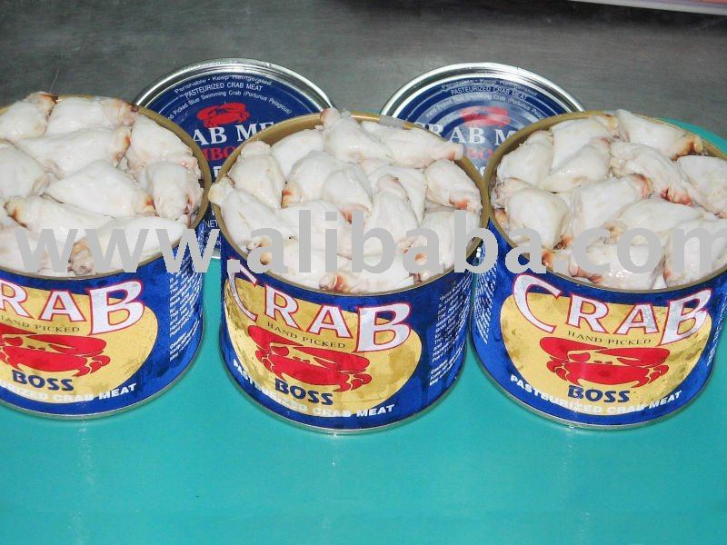 Canned Pasteurized Blue Swimming Crab Meat
