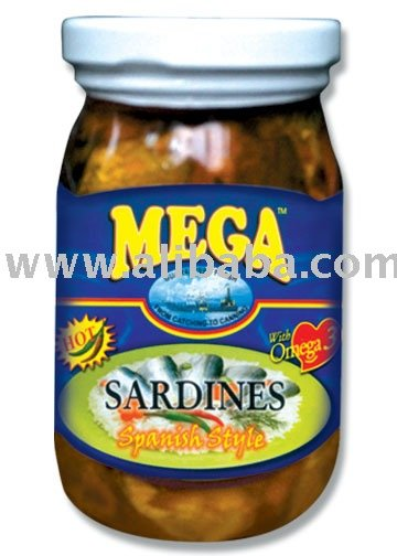 MEGA Sardines in Spanish Style Bottled