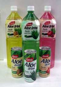 Genie aloe drink (original/pineapple/pomegranate)