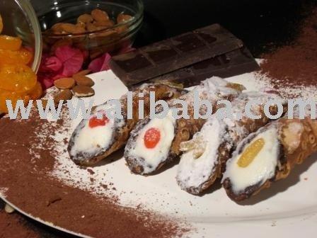 Sicilian Cannolo dessert