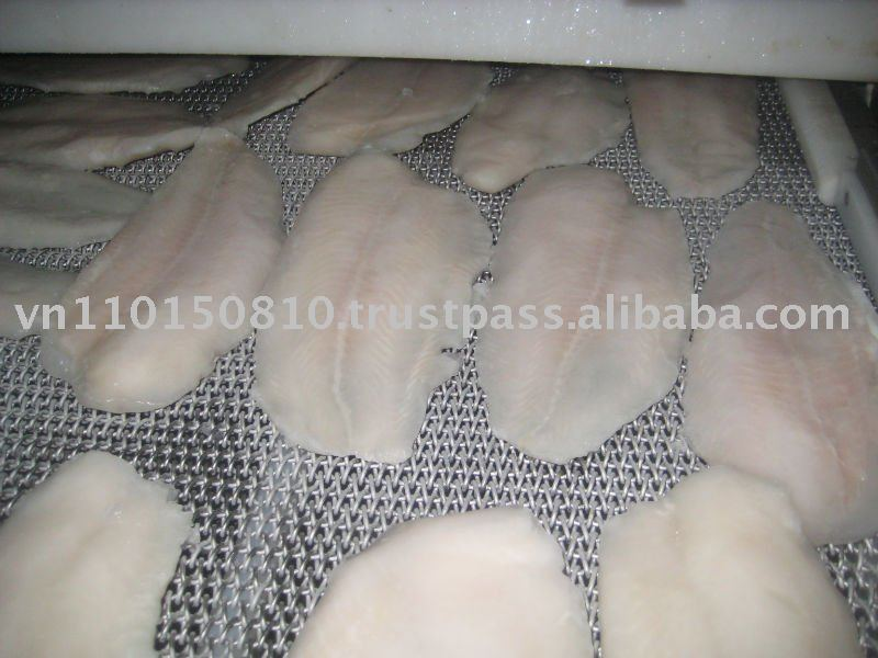 Pangasius filet (well-trimmed)