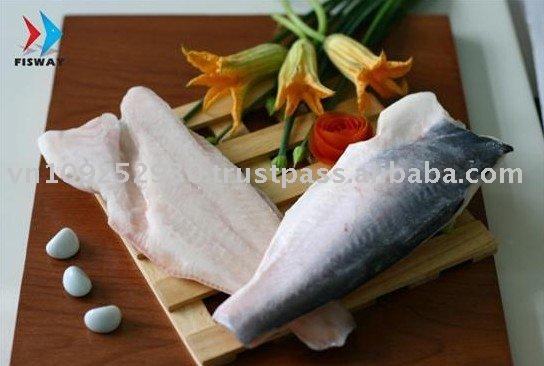 Frozen Pangasius Basa Catfish Swai Fish Seafood - Fillet Skin On