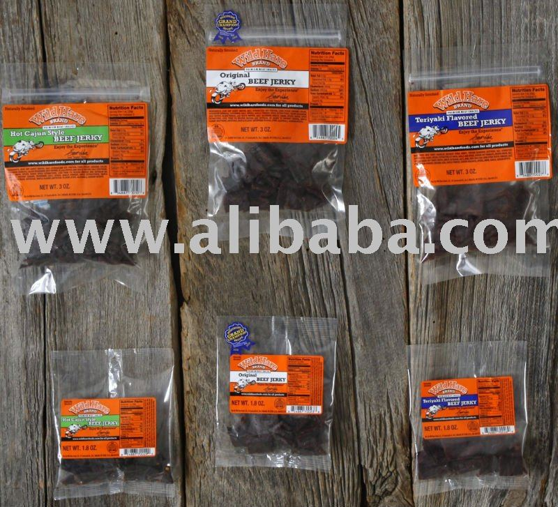 Wild Hare Meat Snack Sticks Products United States Wild