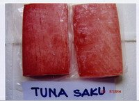 Frozen Yellowfin Tuna Saku/CO -treated