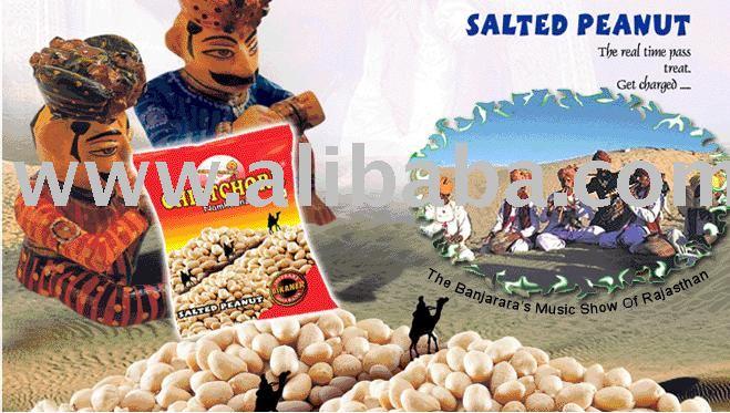 Salted Peanut snack