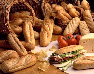 Submarine rolls  bread