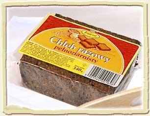 Chleb razowy pelnoziarnisty Fawor
