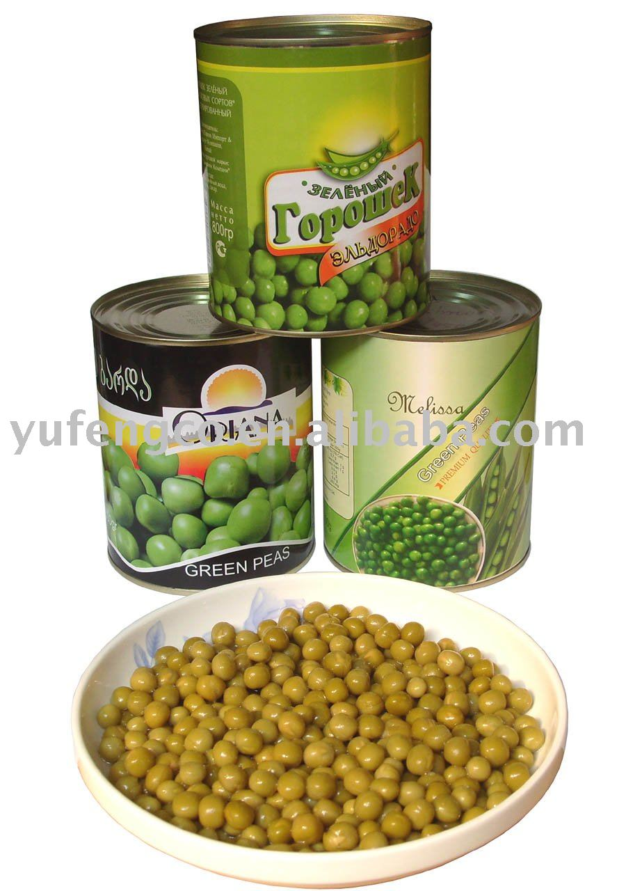 peas/canned peas/green peas in cans/canned green peas