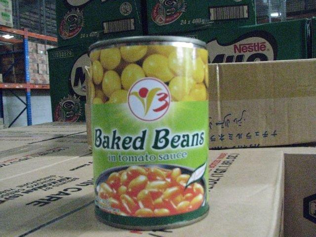 baked beans (v3 brand)  (400g)