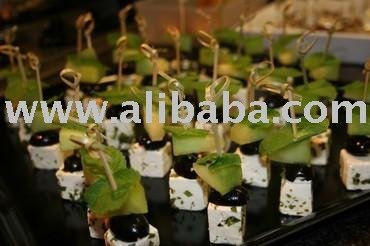 Roasted Zucchini, Feta & Mint Skewer Canapes products,United Arab ...