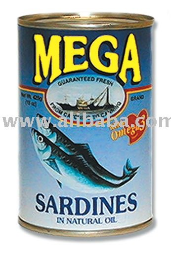 MEGA Sardines in Natural Oil