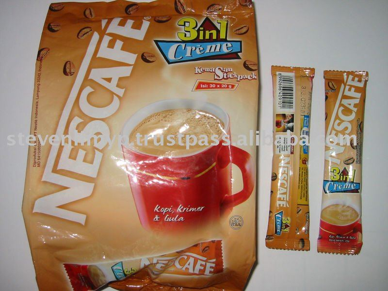 nescafe 3 in 1 indo original creme coffee