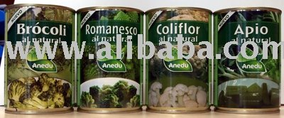 Natural Canned Romanesco