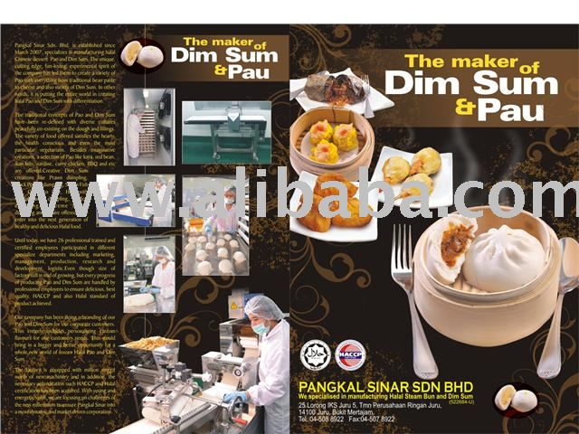 Halal Dim Sum & Pau: Frozen food-