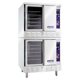 Commercial Electric Convection Ovens - Imperial - Bakery Depth - Double Deck - 38 In Wide - 208 Volt