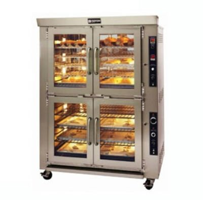 Commercial Electric Convection Ovens - Imperial - Bakery Depth - Double Deck - 38 In Wide - 240 Volt