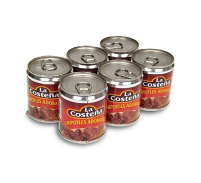Canned Chipotle Peppers