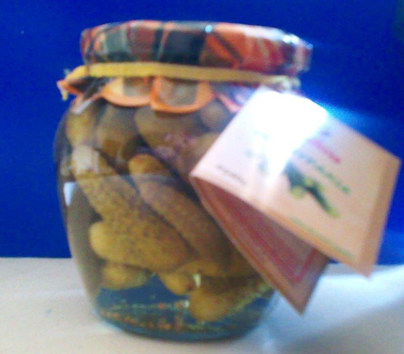 Pickled cucumber 540ml jars