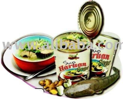 Sup Ikan Haruan Dalam Tin