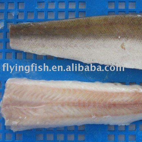 Pacific hake fillets IQF