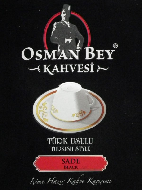 OSMAN BEY TURKISH INSTANT COFFEE BLACK