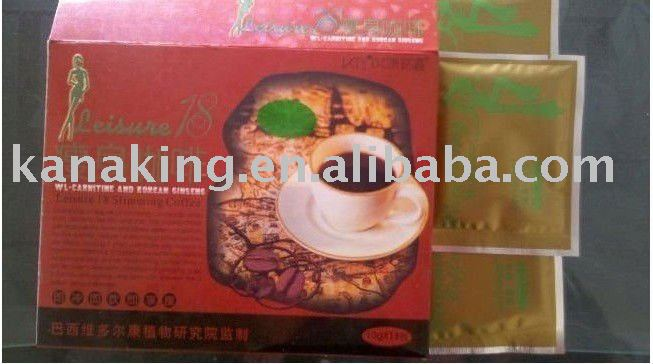 Sell Well Leisure 18 Body Beauty Slimming Coffee Products