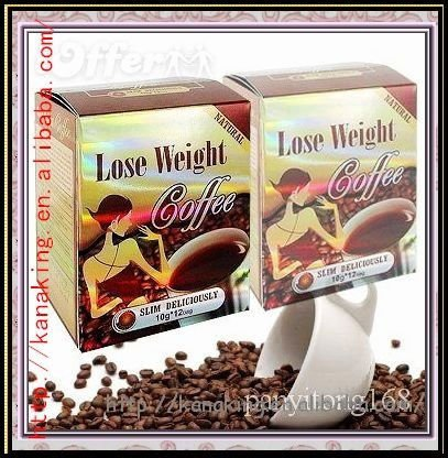2011 hot sell lose weight coffee herbal slimming products