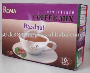 Unsweetened Hazelnut Coffee Mix