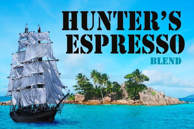 Hunter's Espresso Blended Coffees