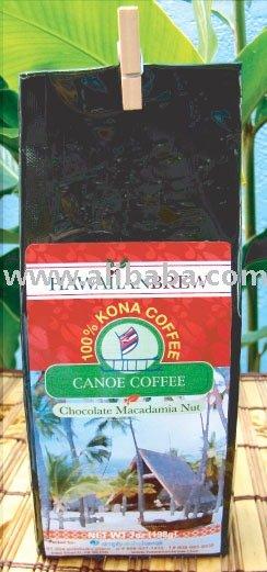 100% Hawaiian Chocolate Macadamia Nut Kona Coffee