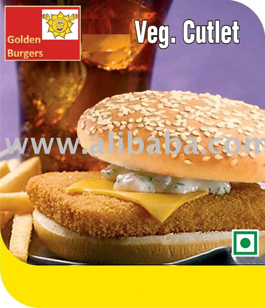 Veg. Cutlet (Burger Patty)
