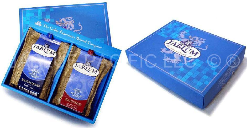 Jamaica Blue Mountain Coffee Bean Gift Box