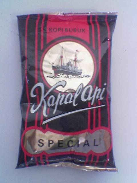 Indonesian Black Coffee Powder 185 Gram