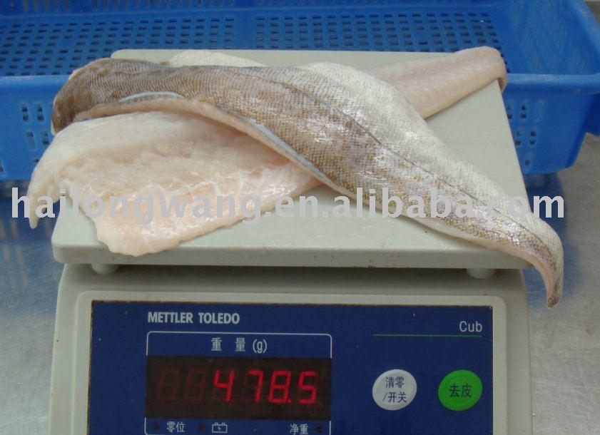 frozen fish-Frozen Pacific Cod Fillets